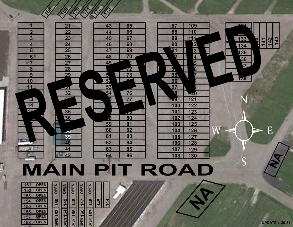Reserved Parking Map 031121